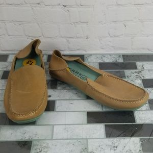 Sperry Tan Loafers